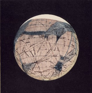 Image of ancient map of the earth